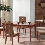 Indoor Wicker Dining Room Chairs