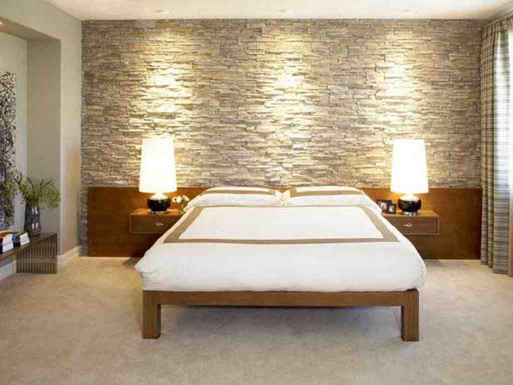 Wall Decoration Ideas Stone : Interior faux stone wall covering decor ideasdecor ideas