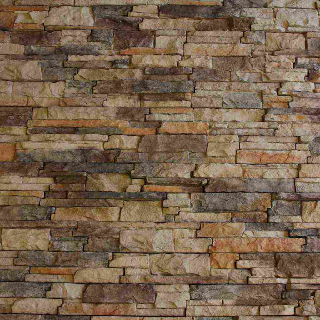 Faux Rock Panels Stacked Stone On Faux Stone Walls For Interior