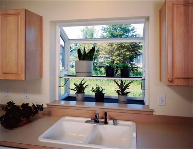 Kitchen greenhouse window decor ideasdecor ideas for Garden window