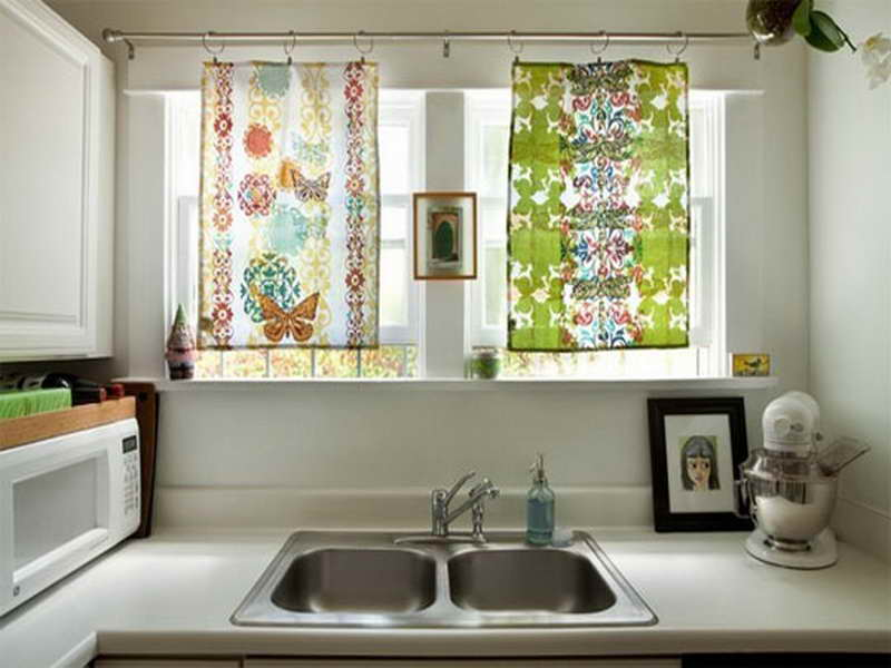 Kitchen Window Treatment Design Ideas ~ Kitchen window shades decor ideasdecor ideas