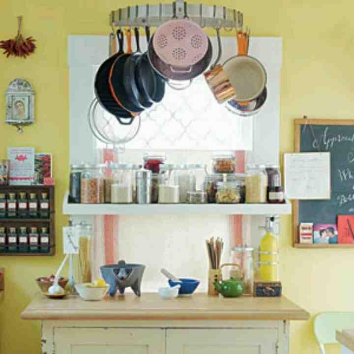 Kitchen Window Shelf Ideas