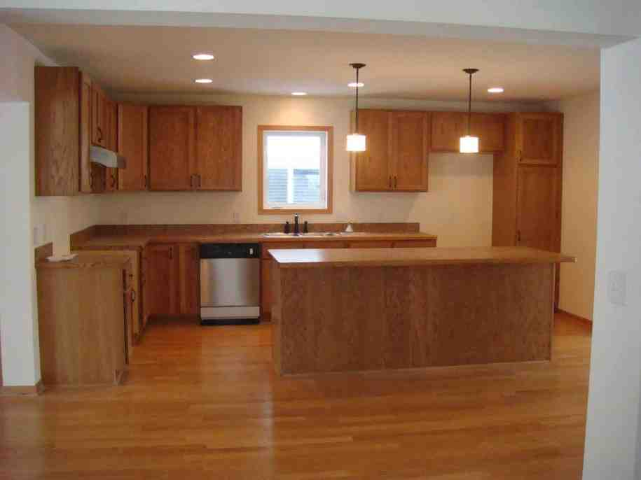 Laminate Wood Flooring in Kitchen
