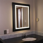 Lighted Bathroom Wall Mirrors