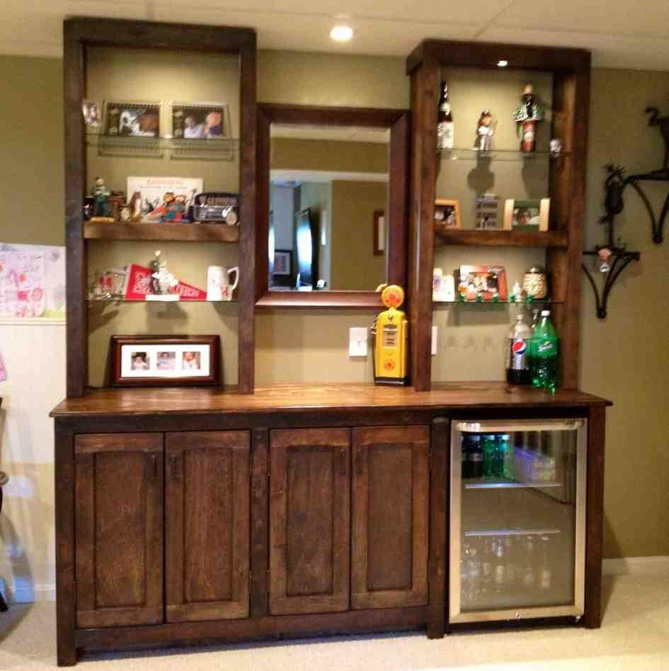 Living Room Bar Cabinet