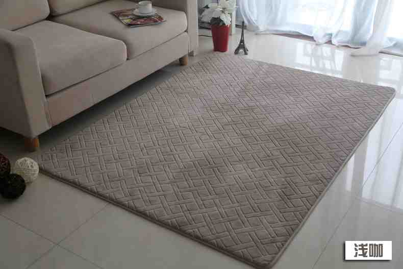 Memory Foam Rugs for Living Room
