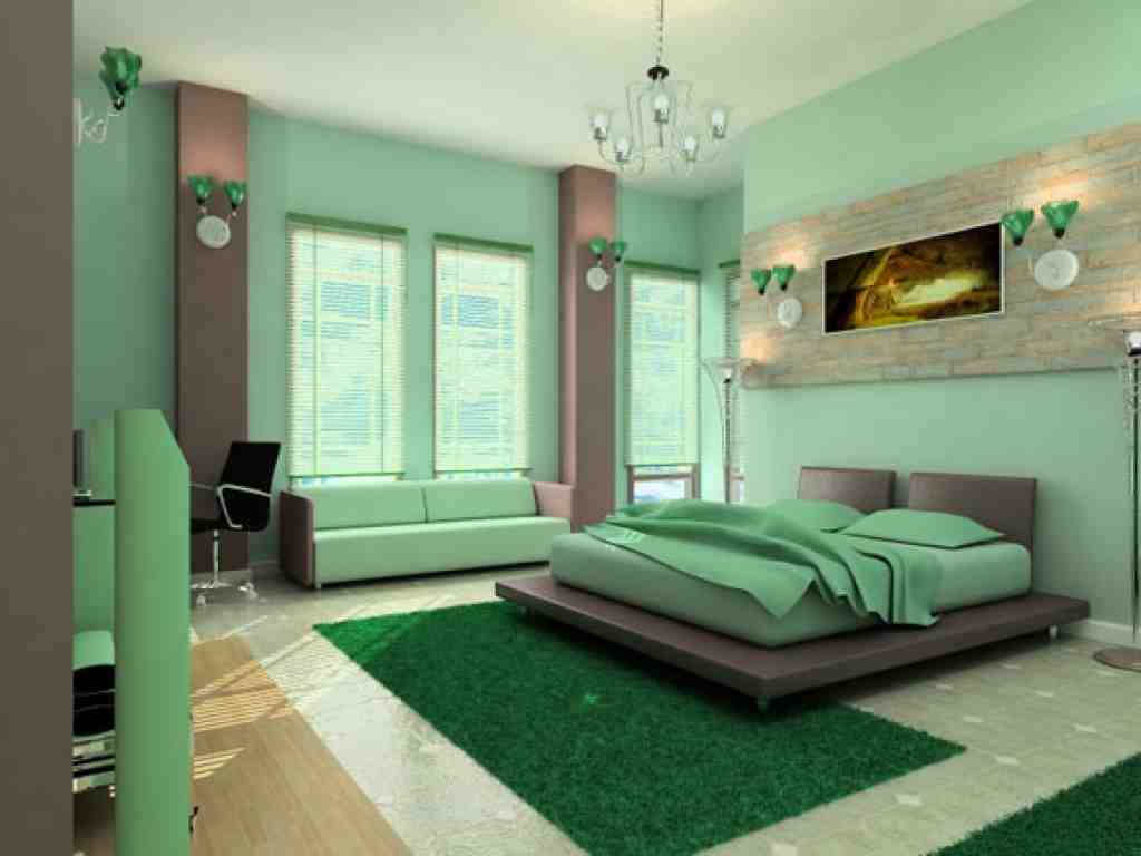 Mint green bedroom walls decor ideasdecor ideas for Mint green bedroom ideas