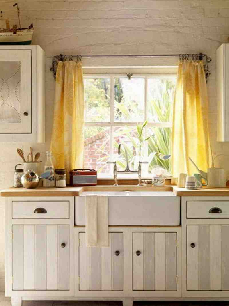 Modern kitchen window decor ideas decor ideasdecor ideas for Kitchen window curtains