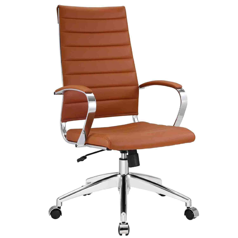 Modern leather office chair decor ideasdecor ideas for Modern leather desk chair