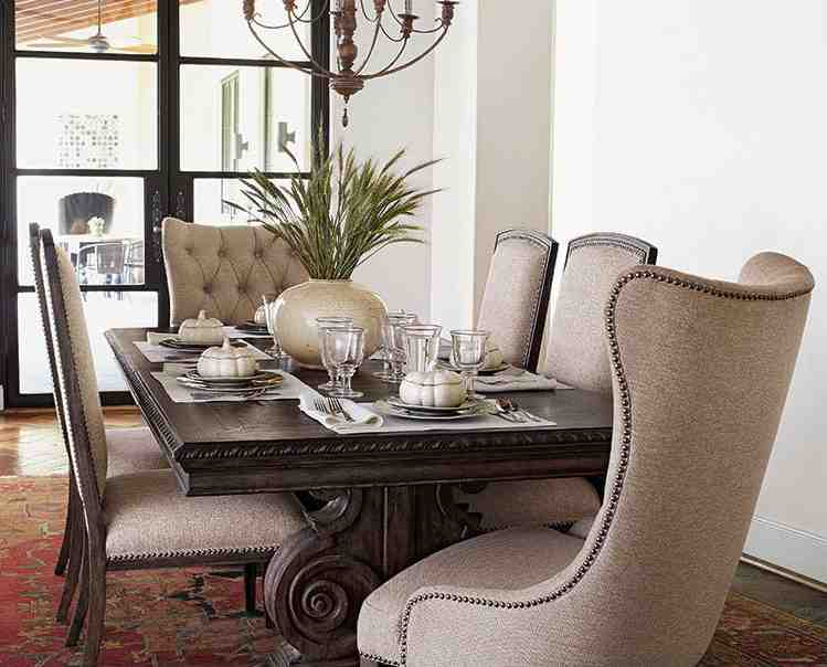 Nailhead Dining Room Chairs Decor Ideasdecor Ideas