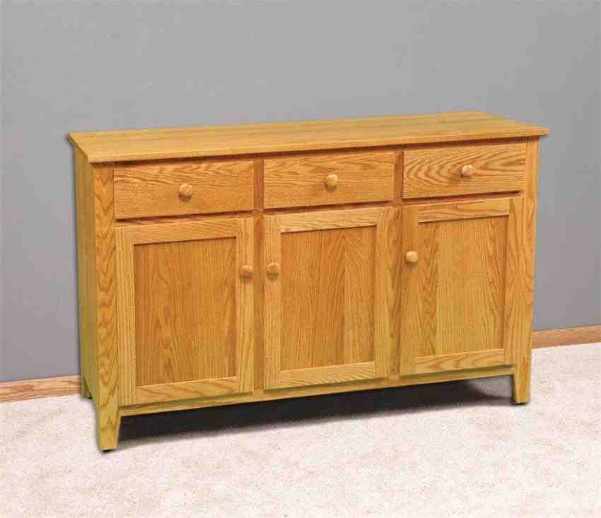 OAK Buffet Cabinet Decor IdeasDecor Ideas