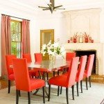 Orange Dining Room Chairs