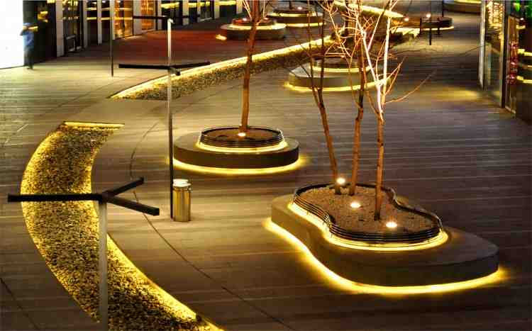 Outdoor led strip lighting decor ideasdecor ideas - How to design outdoor lighting plan ...
