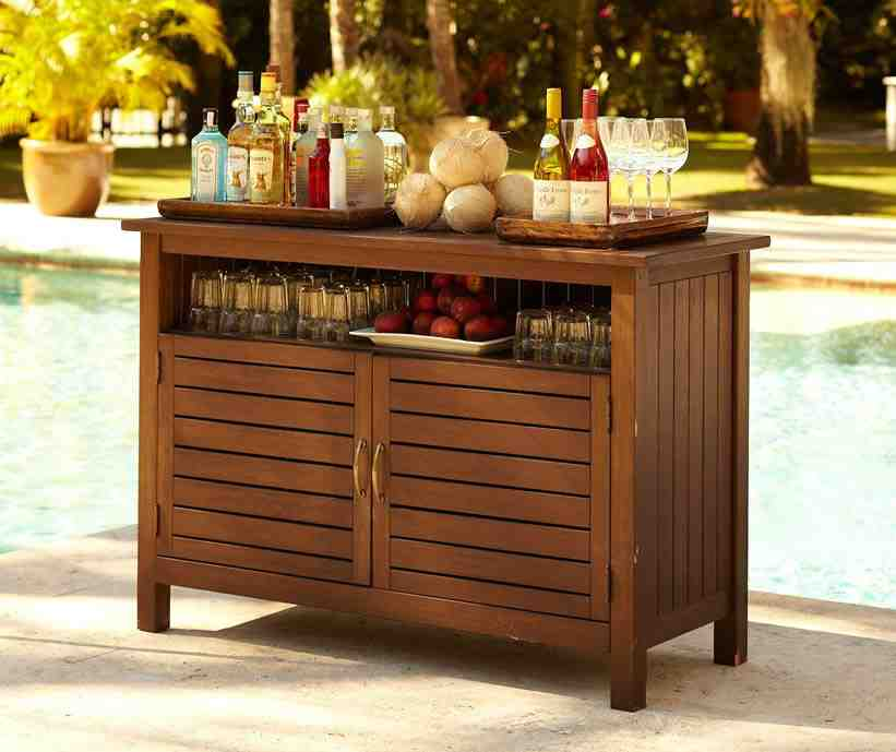 Rustic dining chair plans - Outdoor Sideboard Table Decor Ideasdecor Ideas