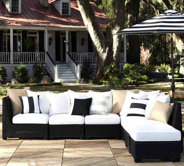 outdoor wicker sectional furniture decor ideasdecor ideas. Black Bedroom Furniture Sets. Home Design Ideas