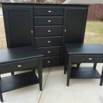Painting Bedroom Furniture Black