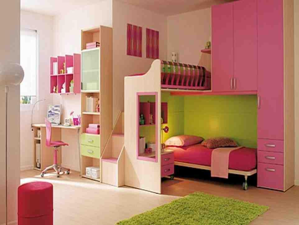 Pink and Green Girls Bedroom - Decor IdeasDecor Ideas