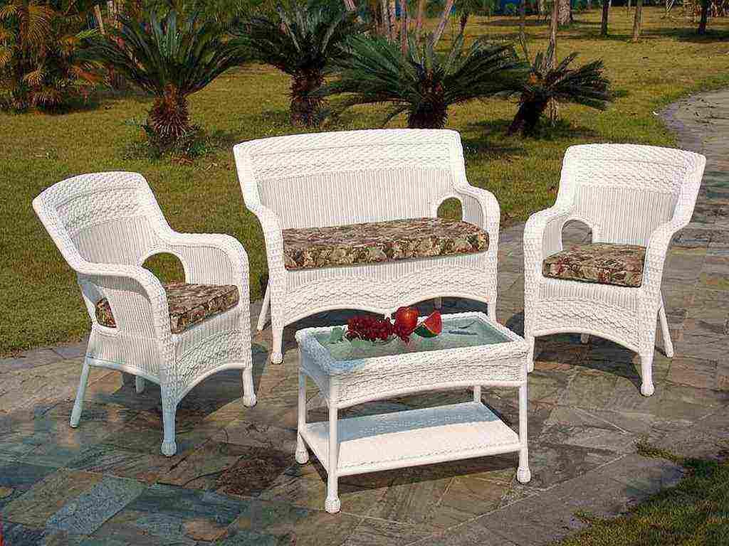 Plastic Wicker Outdoor Furniture