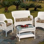 Plastic Wicker Outdoor Furniture