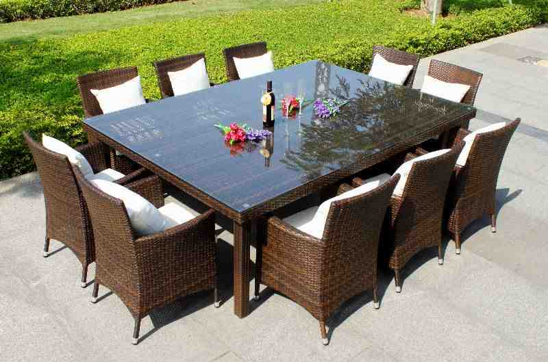 Poly Wicker Outdoor Furniture