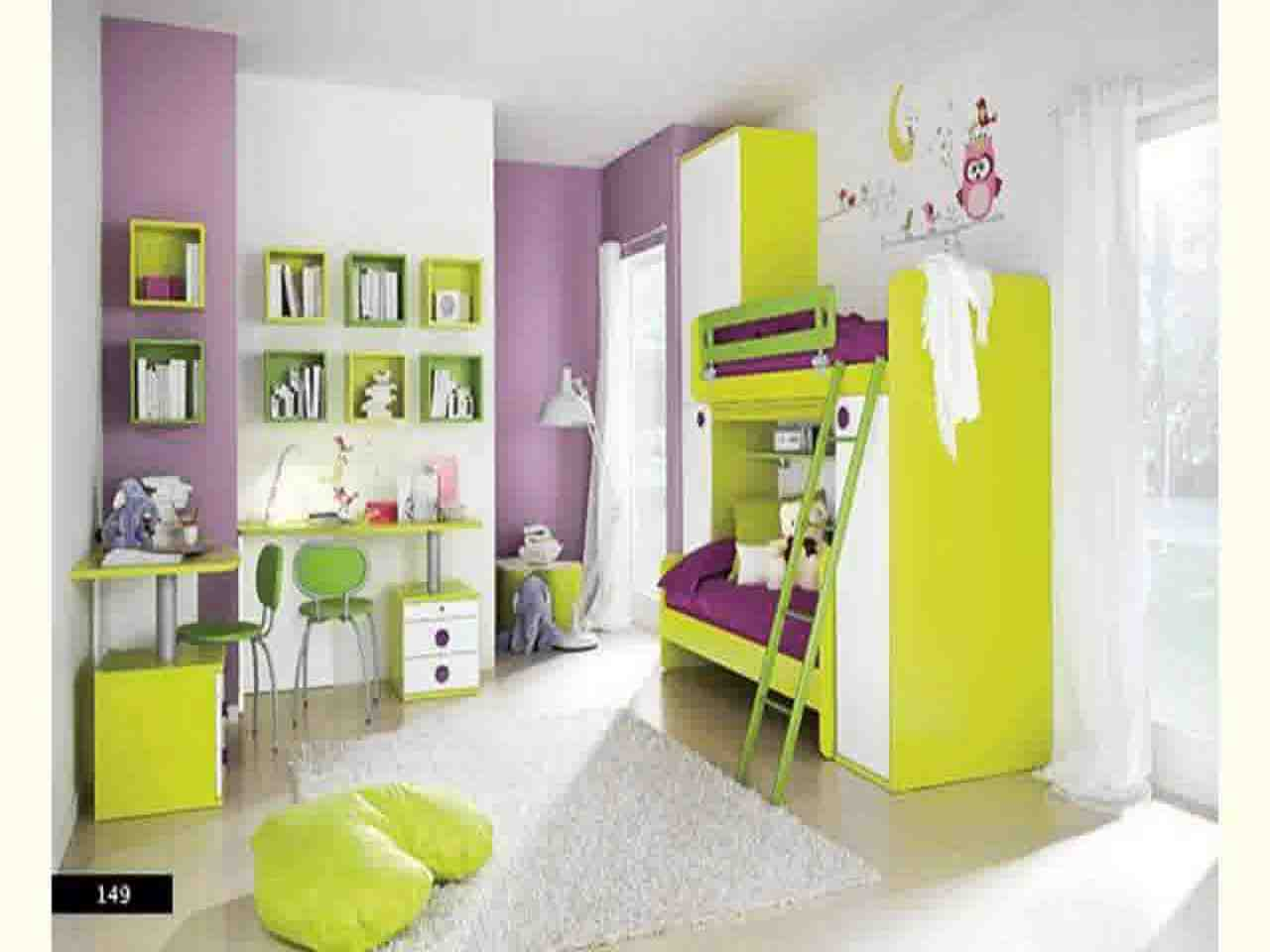 Purple and green bedroom decorating ideas decor for Green and purple bedroom designs