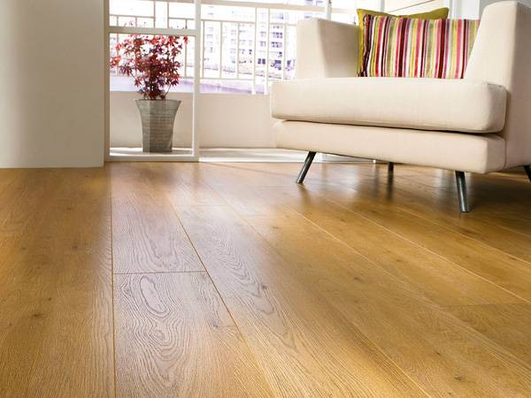 Real Wood Laminate Flooring