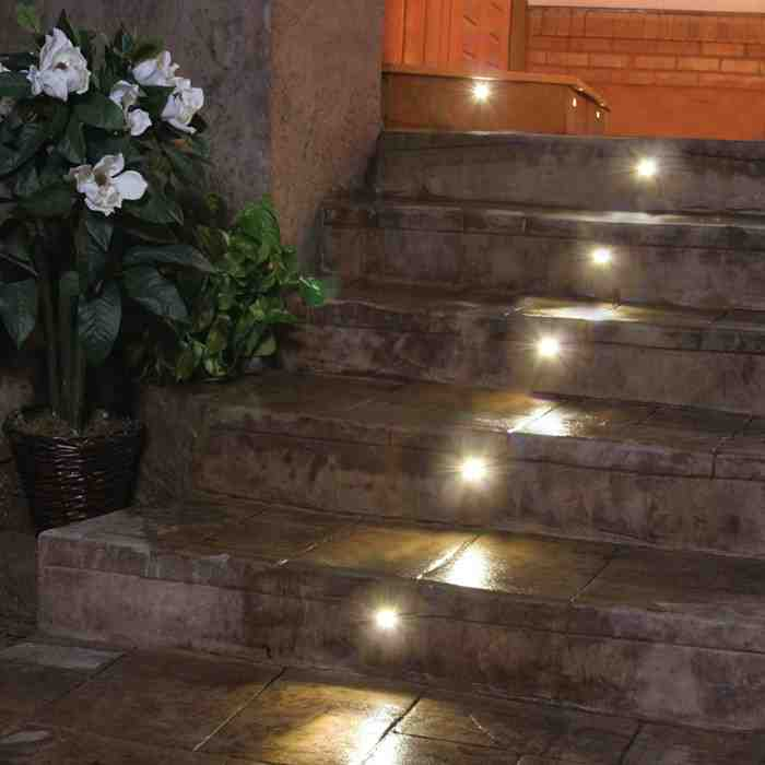 Recessed Outdoor Led Step Lights Decor Ideasdecor Ideas