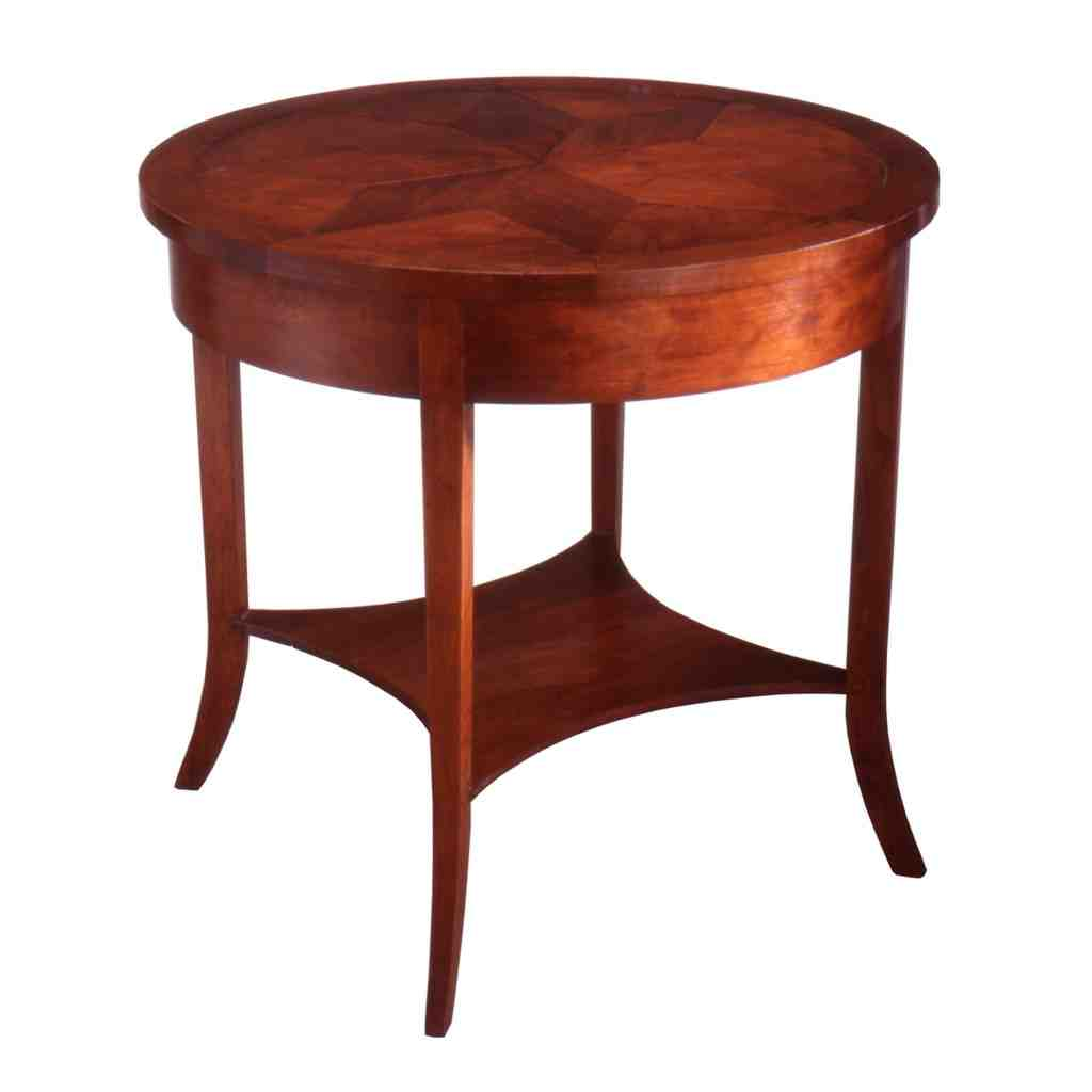 Antique Round Side Table - Decor IdeasDecor Ideas