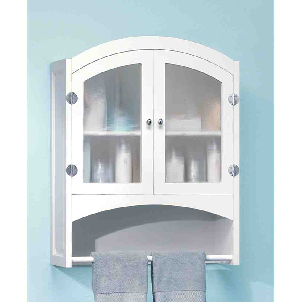 Model Buy 4D Concepts Bathroom 2 Door Wall Cabinet In White  76420 At