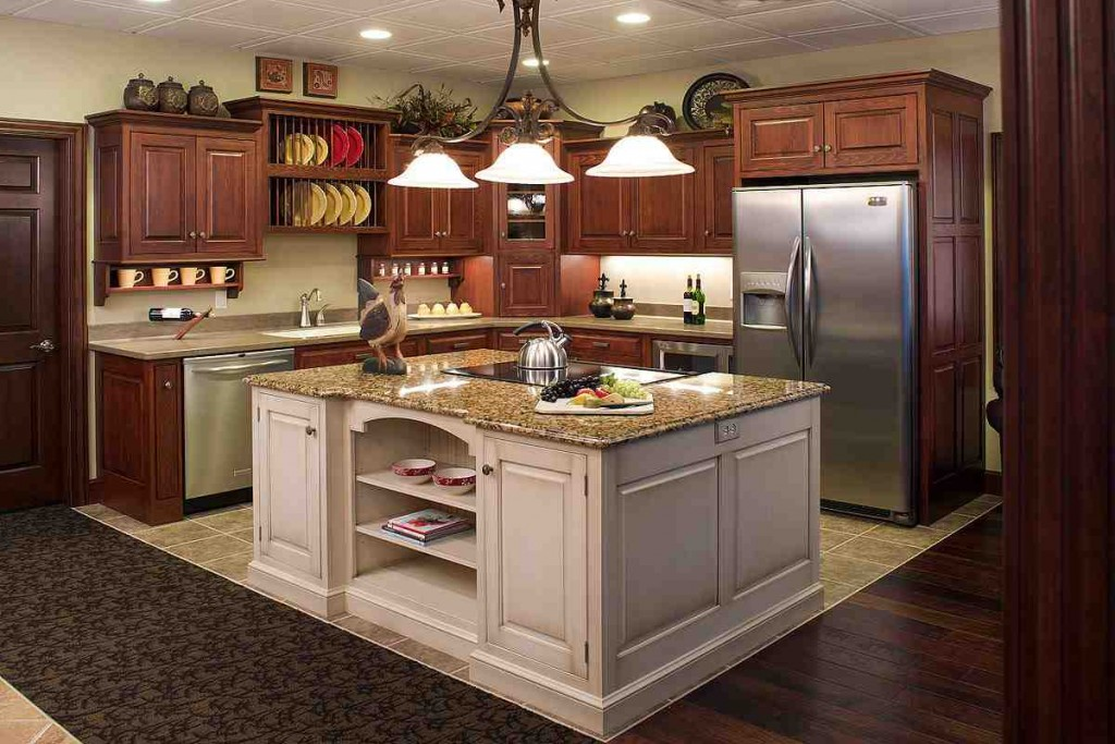 Open Kitchen Cabinets