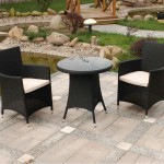 Black Cheap Wicker Patio Furniture Sets