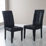 Bonded Leather Dining Chairs