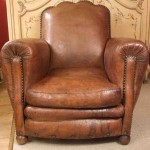 Brexley Leather Club Chair