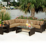 Brown Wicker Patio Furniture