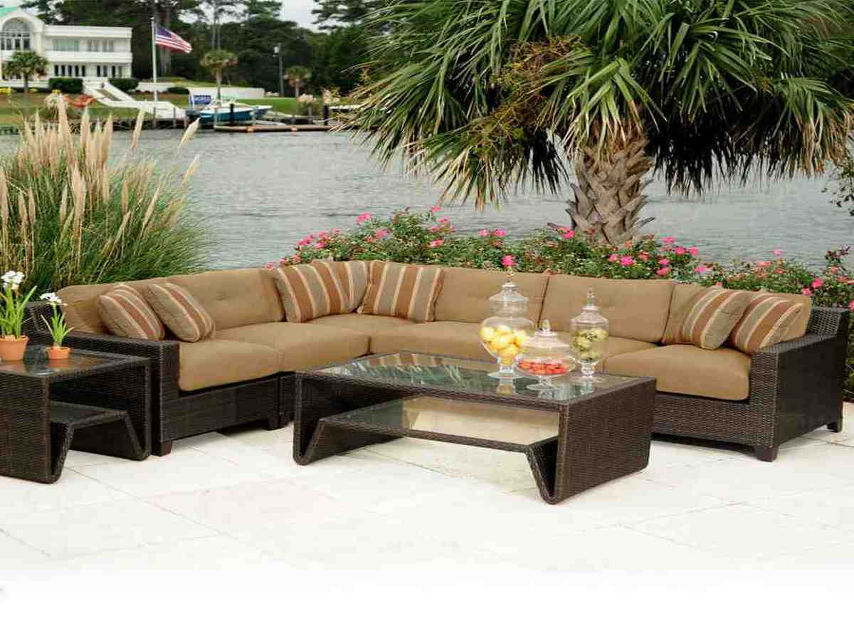 30 Beautiful Brown Wicker Patio Furniture