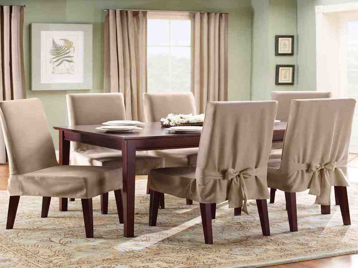 Cheap dining room chair covers decor ideasdecor ideas for Cheap dining room chairs