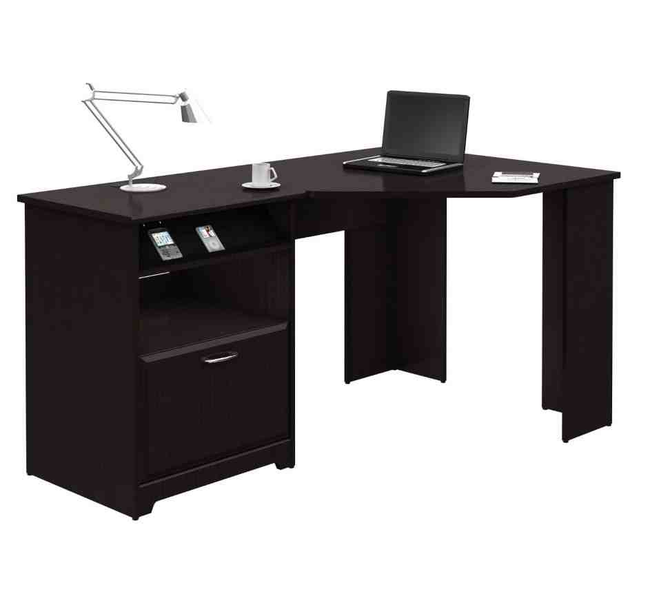 corner office table black office table