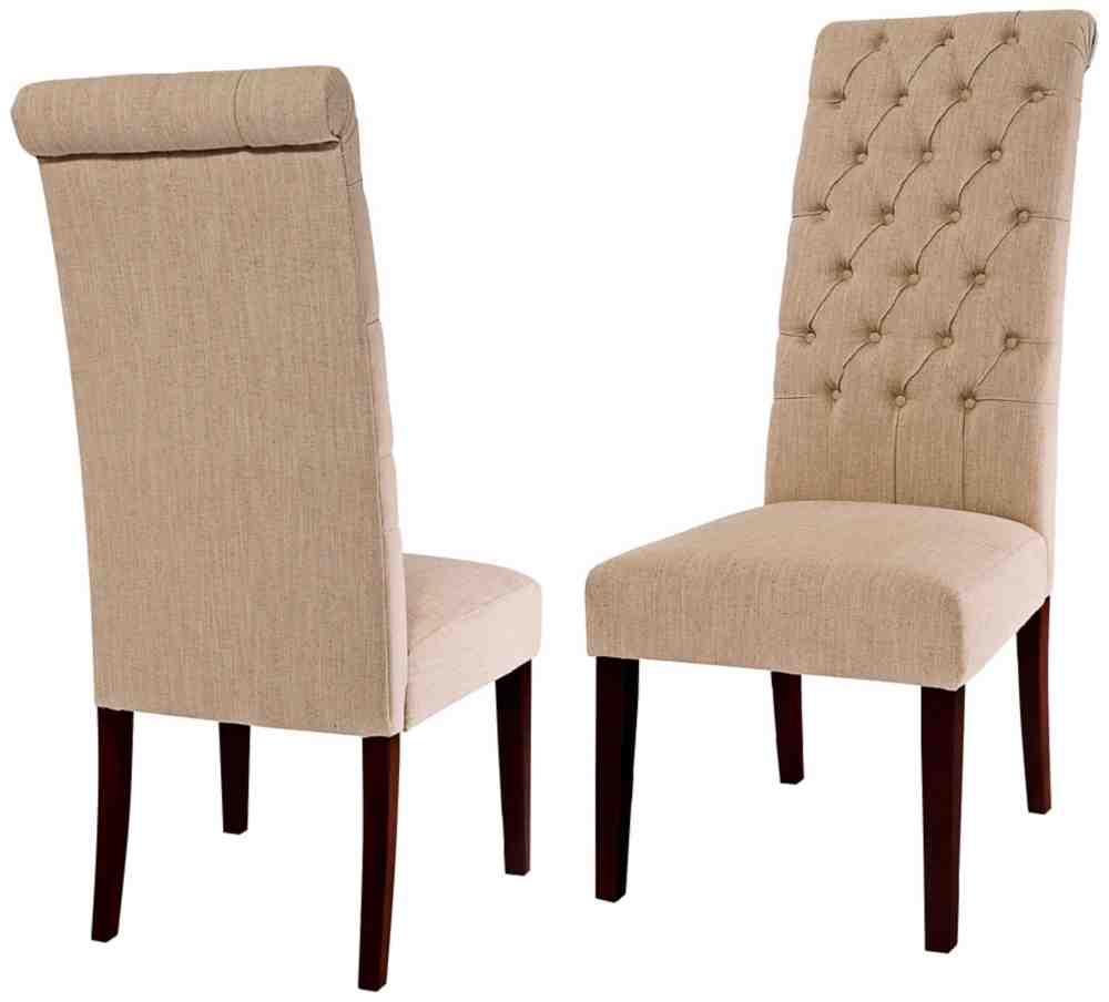 Cream leather dining chairs decor ideasdecor ideas