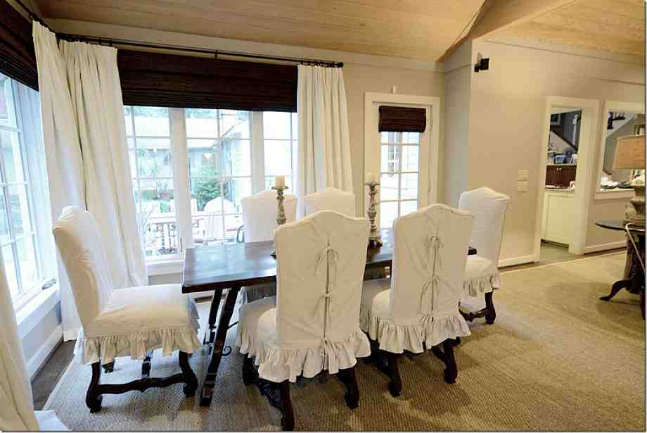 Dining Room Chair Slip Covers Decor IdeasDecor Ideas