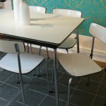 Formica Kitchen Table and Chairs