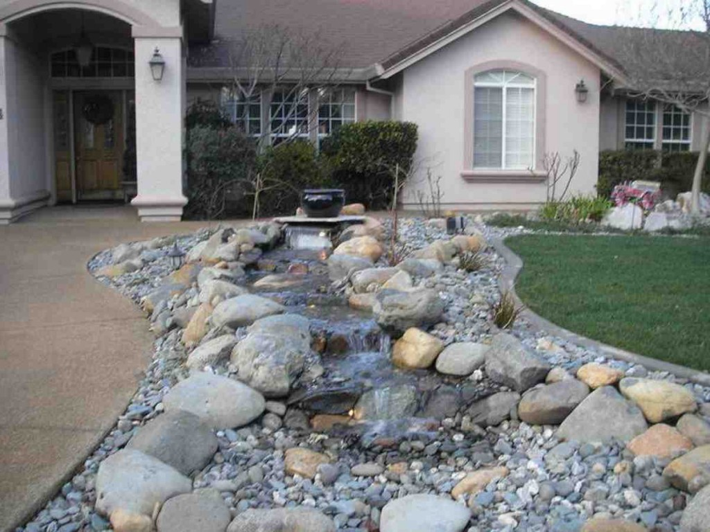 Front Yard Rock Landscaping