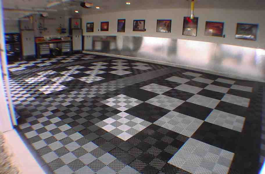 Garage floor designs decor ideasdecor ideas for Floor decoration designs