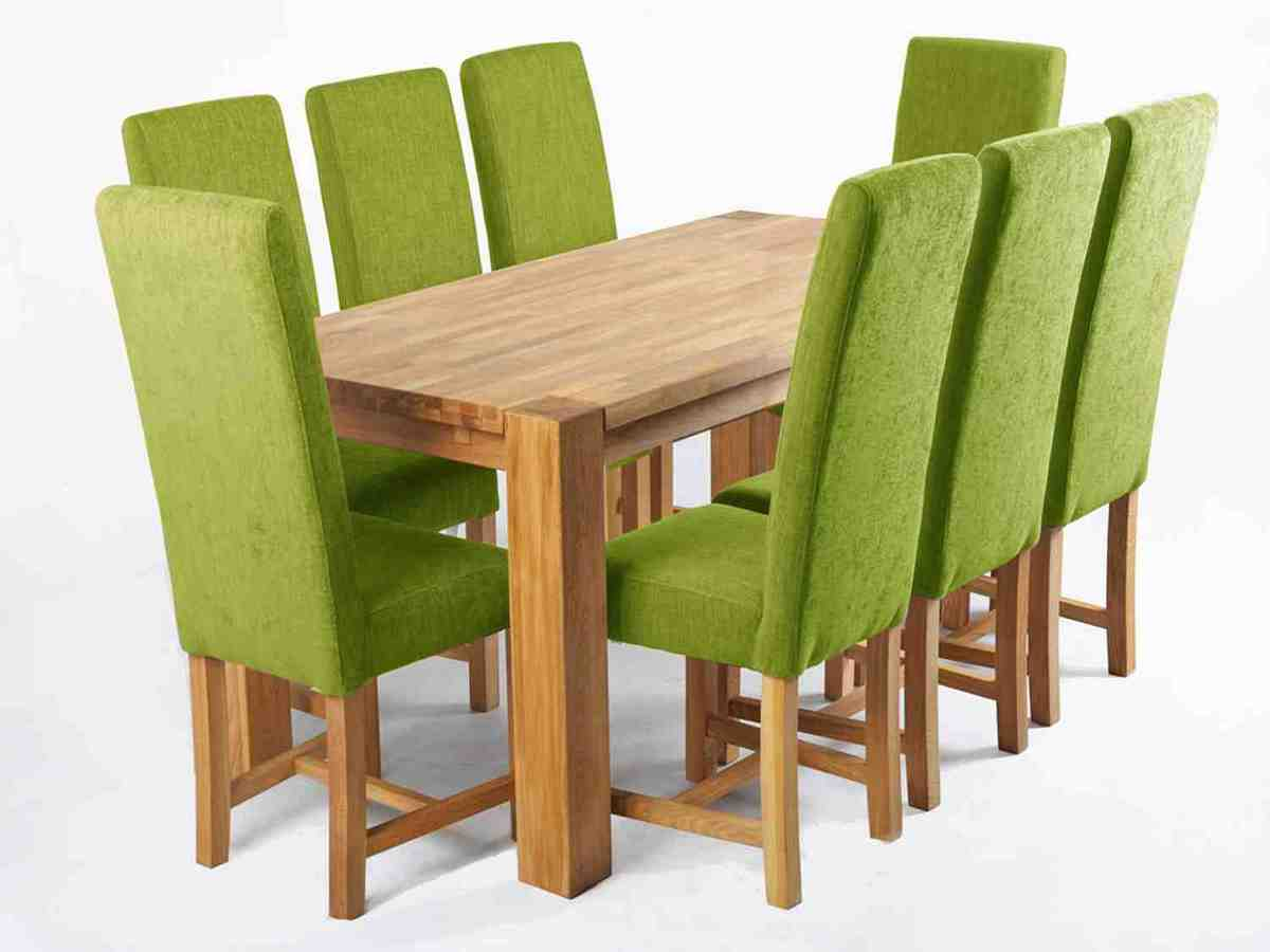 Green Leather Dining Chairs Decor IdeasDecor Ideas