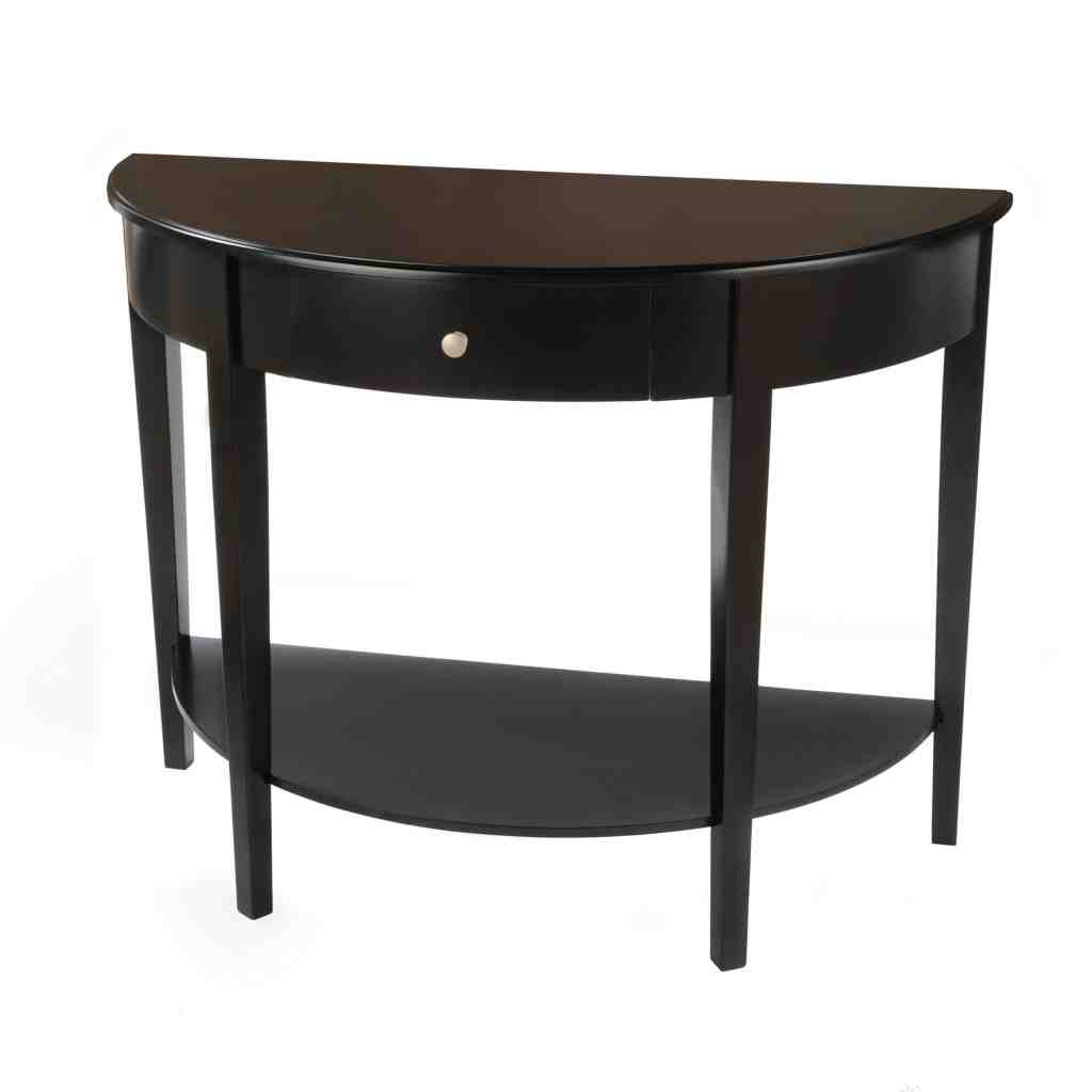 Half Round End Table