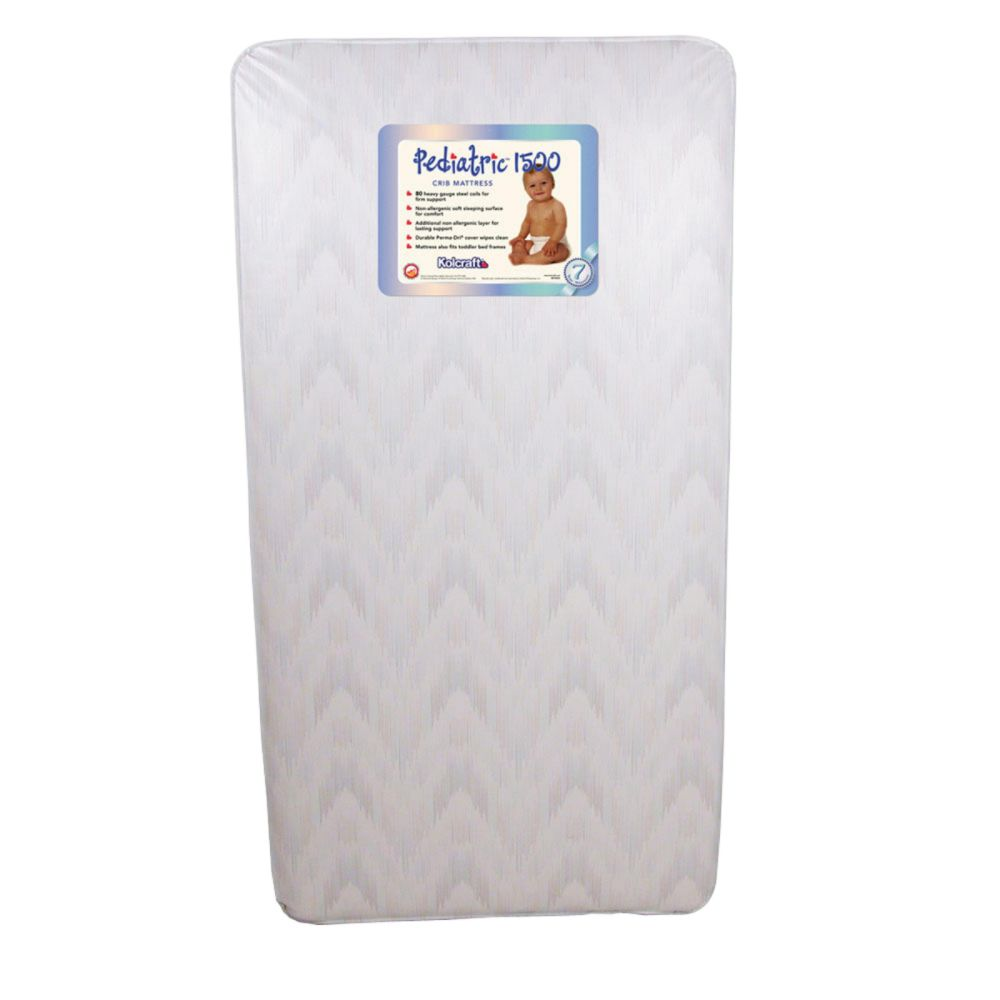 Kolcraft - Pediatric 800 Crib And Toddler Mattress