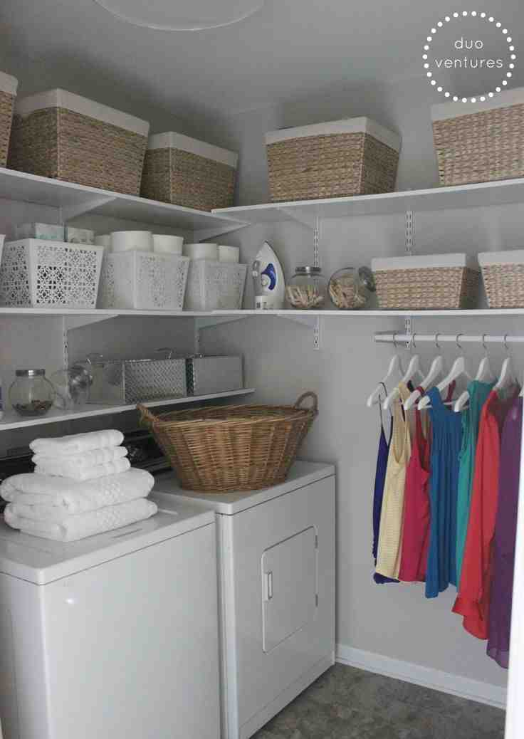 Laundry Room Storage Bins Decor Ideasdecor Ideas