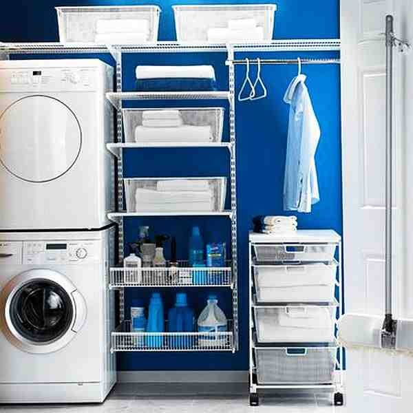 Laundry room storage ideas for small rooms decor ideasdecor ideas - Laundry room designs small spaces set ...