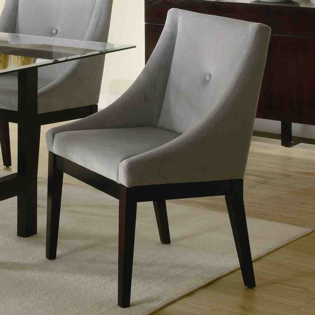Leather dining room chairs with arms decor ideasdecor ideas for Leather dining chairs with arms