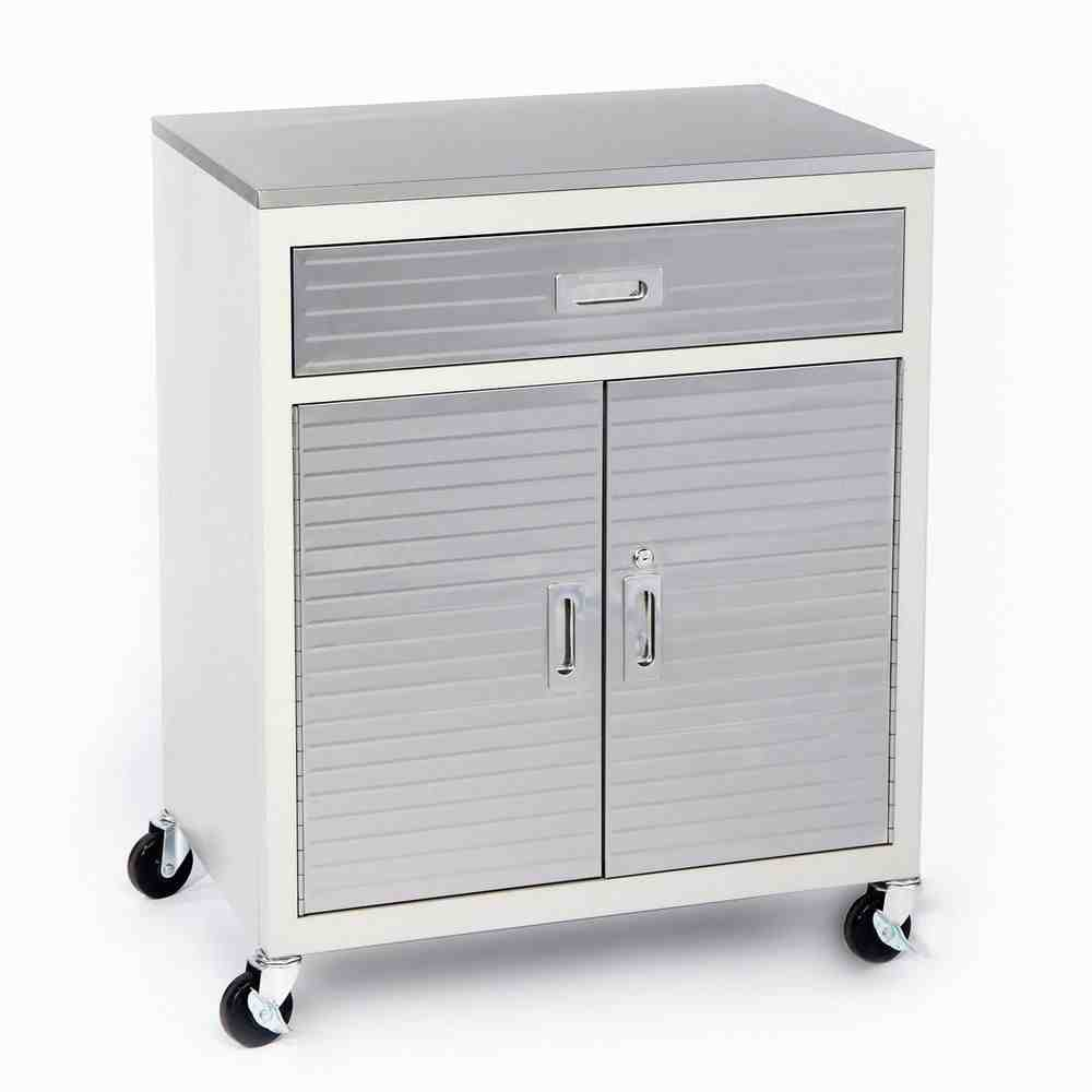 Metal Storage Cabinet With Drawers