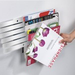Modern Wall Mounted Magazine Rack